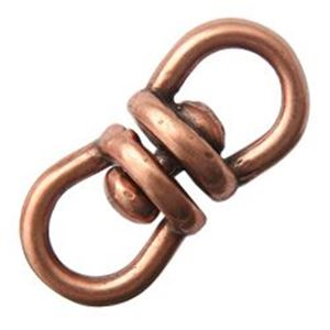 Picture of Antique Copper Plated Revolving Link 5x13mm JBB Finding