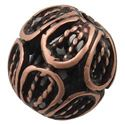 Picture of Copper Plated Fancy Bead 7mm 1.5mm Hole JBB Finding