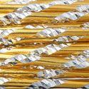 Picture of Gold Round Diamond Cut Aluminum Wire 12ga - 12m
