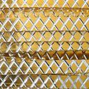 Picture of Gold Flat Diamond Cut Aluminum Wire 1x3mm - 12m