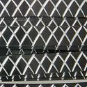 Picture of Black Flat Diamond Cut Aluminum Wire 1x5mm - 8m
