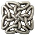 Picture of Celtic Filagree Square Concho 30x30mm