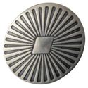 Picture of Nickel Silver Burst Concho w/ Screw 22x25mm