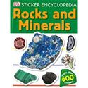 Picture of Sticker Rocks & Minerals BOOK