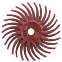 Picture of 3M Radial Bristle Red Disc, 220 Grit, 9/16 Inch