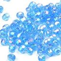 Picture of Blue Round Plastic Beads 4mm<br />Approximately 800 Beads