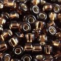 Picture of Dark Brown Silverlined Seed Beads Color #5D / Size #11<br ~        />Approximately 25 Grams