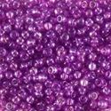 Picture of Aurora Borealis Lined Red Violet Seed Bead #293 / Size 11<br ~        />Approximately 25 Grams