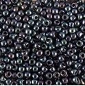 Picture of Metallic Blue Hematite Seed Bead #456 / Size 11<br />Approximately 25 ~        Grams
