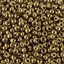 Picture of Metallic Bronze Seed Bead #457 / Size 11<br />Approximately 25 ~        Grams