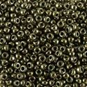 Picture of Metallic Army Green Seed Bead #459 / Size 11<br />Approximately 25 ~        Grams