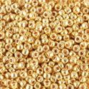 Picture of Galvanized Gold Seed Bead #471 / Size 11<br />Approximately 25 ~        Grams