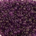 Picture of Purple Matte Seed Bead #F153G / Size 11<br />Approximately 25 ~        Grams