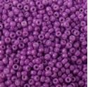 Picture of Opaque Bright Purple Seed Bead #419A / Size 15<br />Approximately 25 ~        Grams