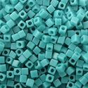 Picture of Opaque Square Med Turquoise #412 1.8mm<br />Approx 10gr