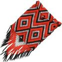 Picture of Ganado Red Beaded Purse with Beaded Straps