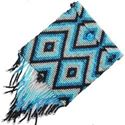Picture of Zuni Blue Beaded Purse with Beaded Straps