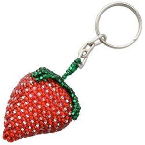 Beaded Keychain Strawberry - Thunderbird Supply Company - Jewelry ... 8195a60e4