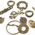 Picture of Grab Bag Pewter Antique Brass. JBB Finding