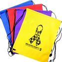 "Picture of NM Autism Society Yellow Drawstring Sportspack, 16.5""x13"""