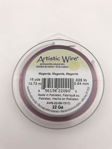 Picture of Magenta Artistic Wire 22ga 15 Yards