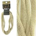 Picture of 4mm Gold Metallic Knit, 5 ft. Coil