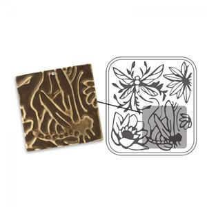 Picture of Sizzix DecoEmboss Die, Dragonfly Pond
