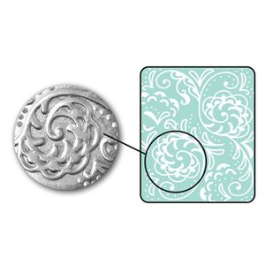 Picture of Sizzix DecoEmboss Die, Botanical Swirls