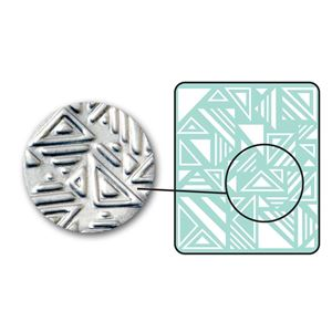 Picture of Sizzix DecoEmboss Die, Jumbled Triangles