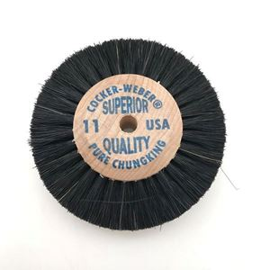 Picture of Cocker Weber Wood Center Brush 3 Row x 3 Inch