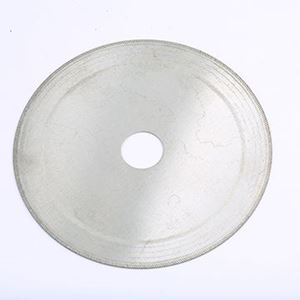 """Picture of Econo Lapidary Blade 4""""x1/2""""&5/8""""x.013"""" Inch"""