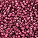 Picture of Crystal Colorlined Dust Rose Seed Bead #395 / Size 8<br ~        />Approximately 25 Grams