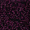 Picture of Amethyst Colorlined Fuchsia Seed Bead #399E / Size 8<br ~        />Approximately 25 Grams