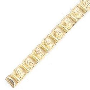 Picture of Wire Red Brass  8ga/.128 Inch Half Bead BULK
