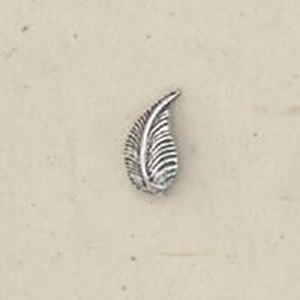 Picture of Sterling Silver Machine Cast Left Leaf 9mm