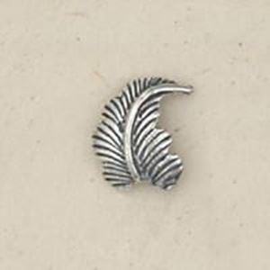 Picture of Sterling Silver Machine Cast Left Leaf 12mm