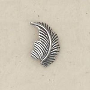 Picture of Sterling Silver Machine Cast Right Leaf 12mm