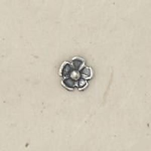 Picture of Sterling Silver Rosette 5/32 Inch Diameter