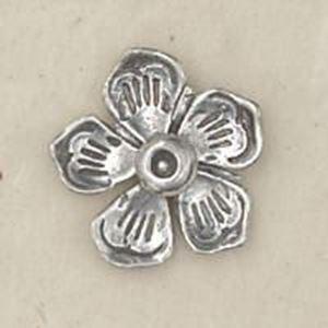 Picture of Sterling Silver Machine Cast Rosette 11/16 Inch Diameter