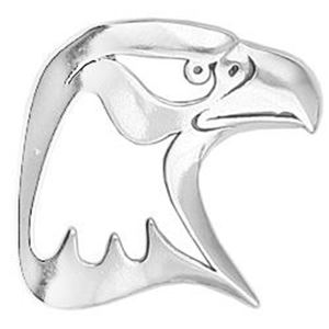 Picture of Sterling Silver Eagle Head Charm