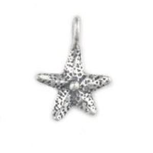 Picture of Sterling Silver Starfish Charm Small