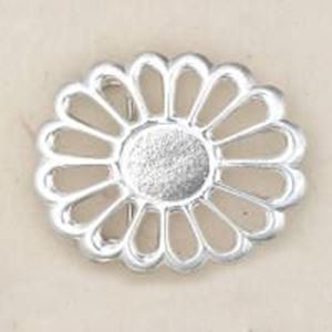 Picture of Sterling Silver Sand Cast Buckle #1