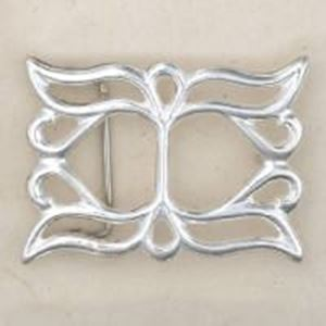 Picture of Sterling Silver Sand Cast Buckle #7