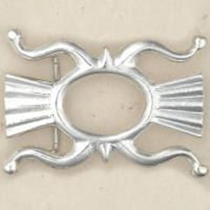 Picture of Sterling Silver Sand Cast Buckle #11