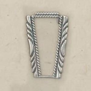 Picture of Sterling Silver Machine Cast Stamped Watch Tip Border