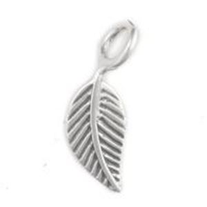 Picture of Sterling Silver Leaf Machine Cast 9mm