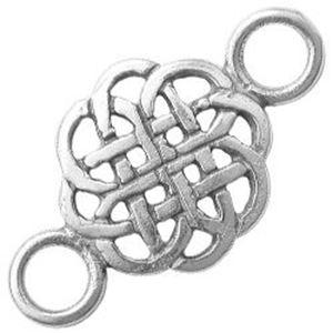 Picture of Sterling Silver Celtic Knot Tile Link, 16mm