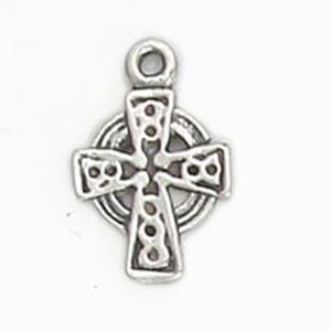 Picture of Sterling Silver Celtic Cross 11mm