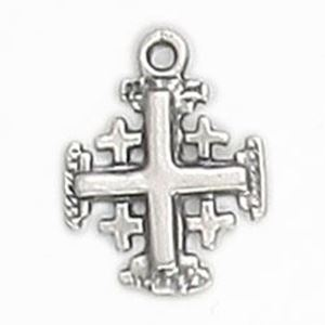 Picture of Sterling Silver Machine Cast Cross, 11mm