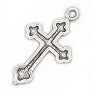 Picture of Sterling Silver Machine Cast Cross, 21mm